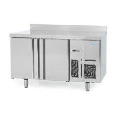 Infrico BMPP1500BT: 2 Door Freezer Back Bar Counter 600mm Deep - 245ltr