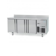 Infrico BMPP2000BT: 3 Door Freezer Back Bar Counter 600mm Deep - 385ltr