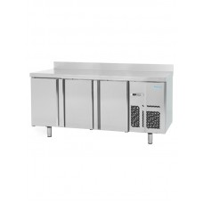 Infrico BMPP2000: 3 Door Refrigerated Counter 600mm Deep - 385ltr