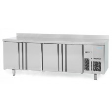 Infrico BMPP2500: 4 Door Refrigerated Counter 600mm Deep - 525ltr