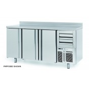 Infrico FMPP1500: 2 Door Tall Back Bar Cooler Counter with 2 YEAR WARRANTY - 325ltr