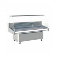 Infrico Malaga VML1200: 1.25m Fresh Fish Display Counter