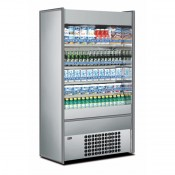 Mondial Elite Slim 110LXX: Multideck Display in Stainless Steel Finish. Supplied with FULL parts and labour warranty!