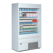 Mondial Elite Slim 110L: 1.2mt Multideck Display in White Finish. Supplied with FULL parts and labour warranty!