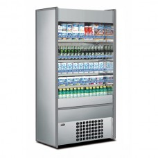 Mondial Elite Slim 90LXX: 1mt Multideck Display in Stainless Steel Finish. Supplied with FULL parts and labour warranty!