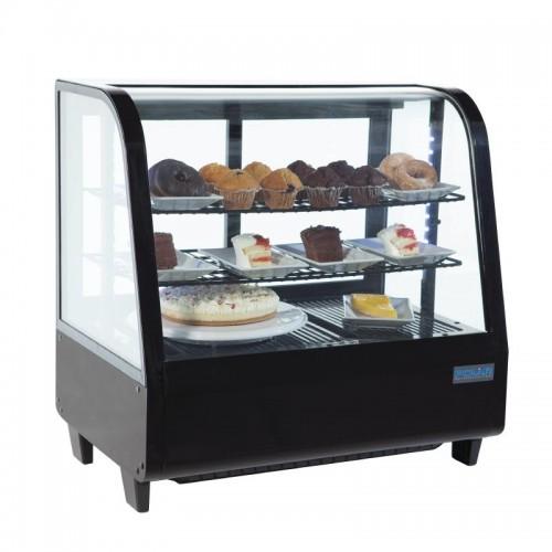 Polar Cc611 100ltr Chilled Countertop Food Display Black