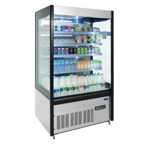 Polar GH268: 1.06m Multideck Display Refrigerator with LED Lighting & Night Blind