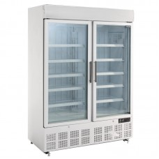 Polar GH507: 920Ltr Display Freezer with Light Box