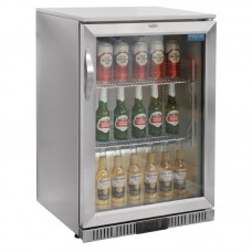 POLAR GL007: 138Ltr Back Bar Beer Cooler with LED Lighting & 2 YEAR FULL WARRANTY