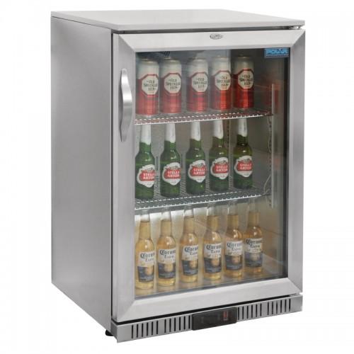 Polar Gl007 138ltr Back Bar Beer Cooler With Led Lighting