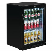 POLAR GL011: 128Ltr Back Bar Beer Cooler 850mm High with LED Lighting & 2 YEAR FULL WARRANTY