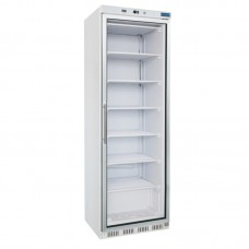 Polar CB921: 365ltr Glass Door Display Freezer - Fixed Shelves