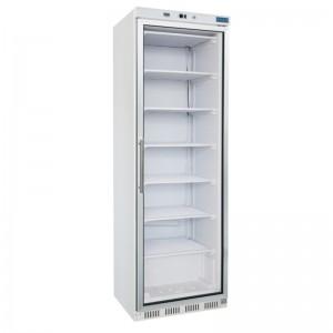 Polar CB921: 365ltr Glass Door Display Freezer - Fixed Shelves