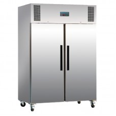Polar G595: 1200ltr Commercial Gastronorm Freezer in Stainless Steel - Medium Duty