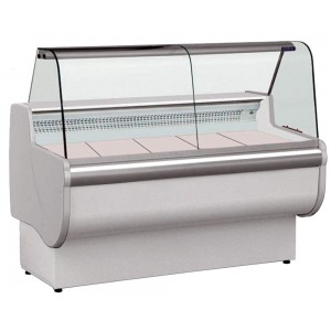 Igloo Rota 100: 1m Slimline Delicatessen Serve Over Display