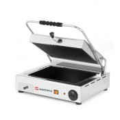 Sammic GV-6LA: Single Contact Grill - Ribbed upper and Smooth lower Glass-ceramic Plate