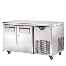 True TGU-2F: 2 Door Stainless Steel Gastronorm Counter Freezer - 297Ltr