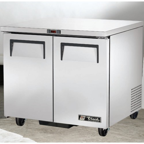 True Tuc 36 240ltr Double Door Undercounter Refrigerator
