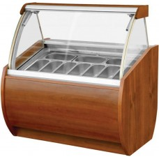 Igloo Aruba 1250: Soft Scoop Ice Cream Display - 14 Pans