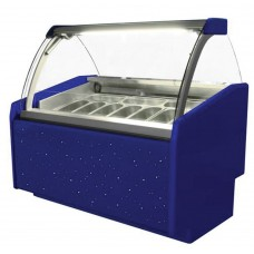 Igloo Aruba Trend 1000: Soft Scoop Ice Cream Display - 7 Pans
