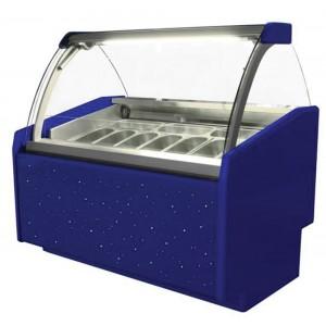 Igloo Aruba Trend 1000: Soft Scoop Ice Cream Display - 7 Pans