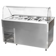 Igloo Casia 15 Hot: Gastronorm Bain Marie Display Counter