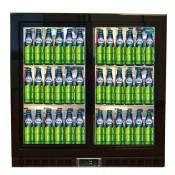FL-BC2S: High Performance 200 Litre Capacity Double Sliding Door Pub Beer Fridge  With LED Lighting - ECA Approved