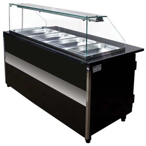 Igloo glh 1000 gastroline heated buffet counter 1m for Sideboard 1m