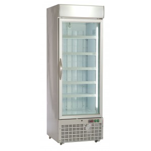 Helios 700: Heavy Duty Display Freezer with Fully Adjustable Shelves