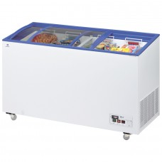 Arcaboa ACL430: 1.4m Sliding Curved Glass Lid Commercial Chest Freezer - 392ltr