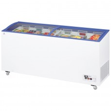 Arcaboa ACL550: 1.8m Sliding Curved Glass Lid Commercial Chest Freezer - 392ltr