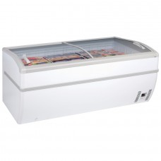 Arcaboa Panoramica 2: 2m High Vision Chest Freezer with LED Lighting - 670Ltr
