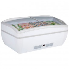 Arcaboa Panoramica HC: 1.96m High Vision Chest Freezer with LED Lighting - 450Ltr