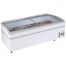 Arcaboa Super 200: 2m High Vision Chest Freezer with LED Lighting - 800Ltr