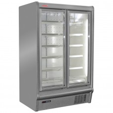 Oscartielle Argus 135BT: Double Glass Door Display Freezer - 570Ltr