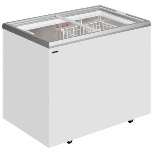 Light Industrial Unit Derby: Derby EK26ST: 0.7m Sliding Glass Lid Chest Freezer