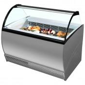 ISA Isabella 10LX: 1.32m Soft Scoop Ice Cream Display - 10 Pans