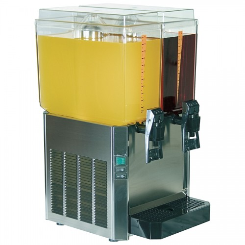 Promek Vl223 Double Juice Dispenser 2 X 11 5ltr