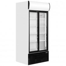 Caravell CBC603: Glass Door Display Fridge 778 ltr.