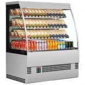 Interlevin EVO1200SS SELF: Stainless Steel Refrigerated Self Service Pastry Fridge 1.2m