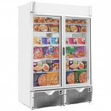 Framec EXPO 1100NV ECO: Glass Door Display Freezer - 1047Ltr