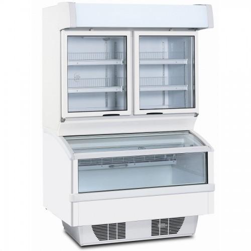 Framec Samba Combi 125n Wall Site Combi Freezer