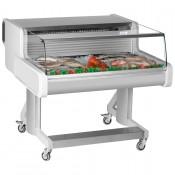 Frilixa Celebrity CEL100 Fish: Low Glass Fish/Meat Display 1m