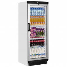 Tefcold FS1280: Glass Door Display Fridge - Only 1635mm high