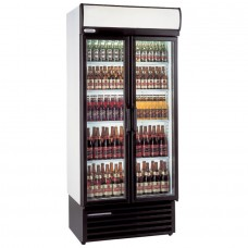 Staycold HD890: Hinged Glass Door Display Fridge 700 ltr.