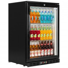 Interlevin PD10H: Hinged Single door Back Bar Cooler 142 ltr.