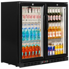 Interlevin PD20H: Hinged Double door Back Bar Cooler 210 ltr.