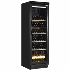 Interlevin SC381W: Glass Door Wine Fridge Up to 78 Bottle Capacity