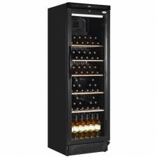 Interlevin SC381W: Glass Door Wine Fridge Up to 78 Bottle Capacity