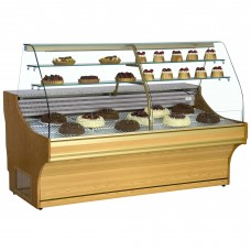 Frilixa Tamega Pastry 15 LW: 1.5m Serve Over Counter for Patisserie - Light Wood - Special Offer Price - Limited Stock!!